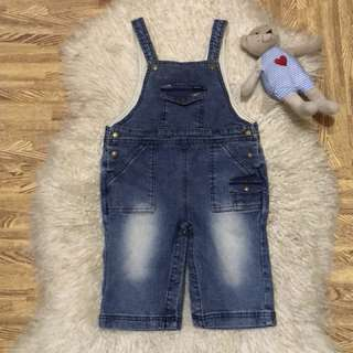 Denim jumpsuit fits to 3-4 years old