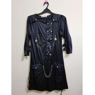 Dress Hitam Model Gothic