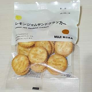 💟 無印良品 Muji Lemon Jam Sandwich Crackers