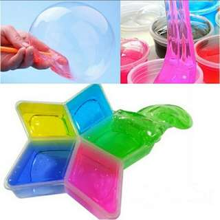 Clay Slima DIY Crystal Mud Play Transparent Magic Plasticine Kid Toy