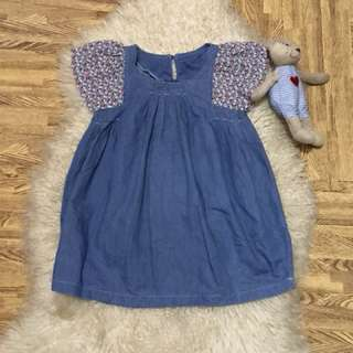 Denim dress fits to 4-7 years old