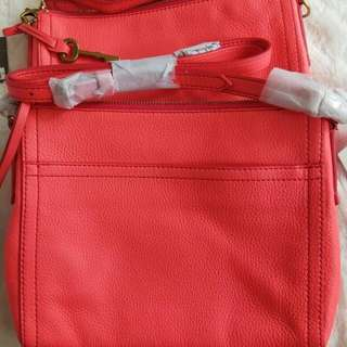 NWT Fossil Xbody Neon Coral