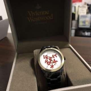 "4折Vivienne Westwood watch""let it rock"""