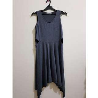 Dress Abu-abu Gaudi