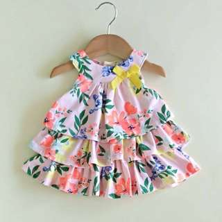 Baby dress with bloomer