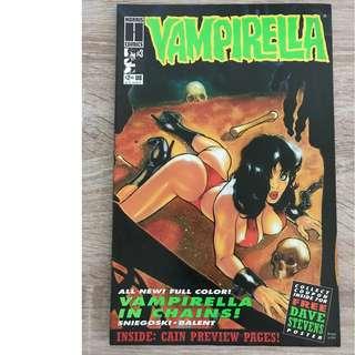 VAMPIRELLA #3 (HARRIS COMICS)