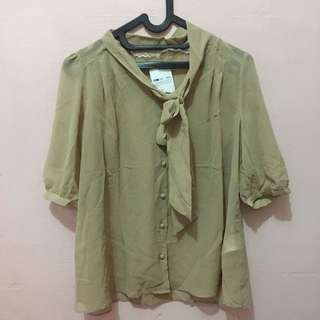 Bow Accent Shirt
