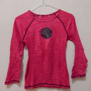 Pink Long Sleeves