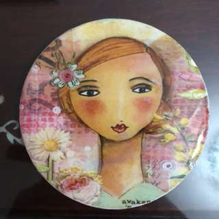 Decoupage coaster