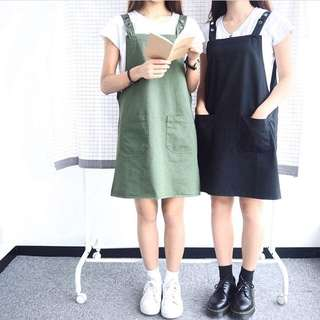 [全新] wwhitetale軍綠色薄款牛仔裙