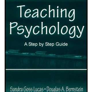Teaching Psychology: A Step By Step Guide 1st Edition