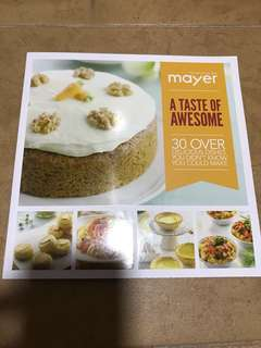 Mayer Cook Book / Recipe Book