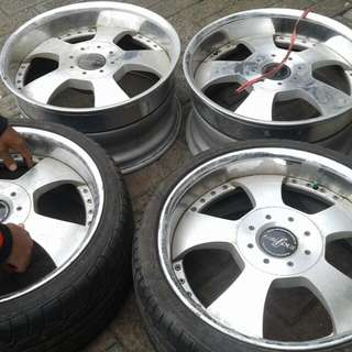 Velg Fabaolus made in japan 112x19 lebar belang