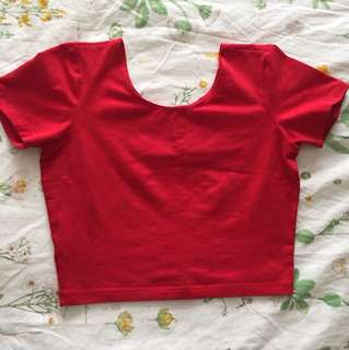 Women's American apparel crop top size M