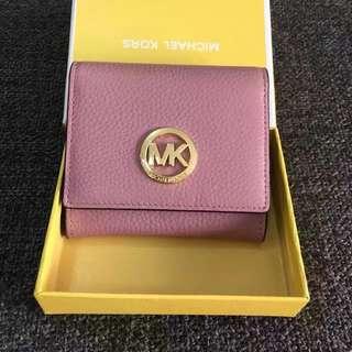 MK荔枝紋零錢包