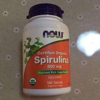 BN USA NOW Spirulina tablets