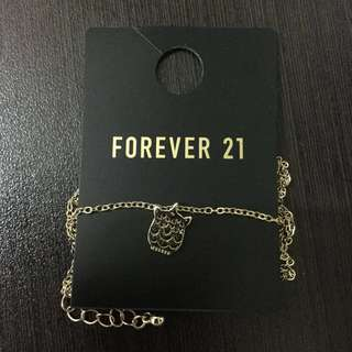 REPRICED: Forever 21 Owl Necklace