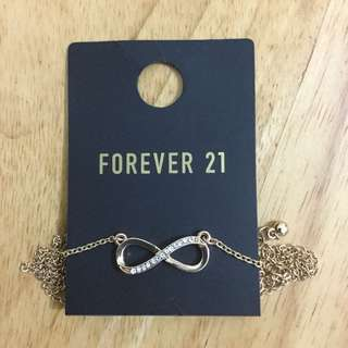 REPRICED: Forever 21 Infinity Necklace