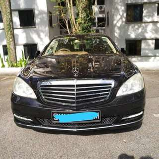 Mercedes S300 W221 V6 Engine