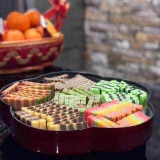 Homemade Sarawak Famous Steam Layer Cake