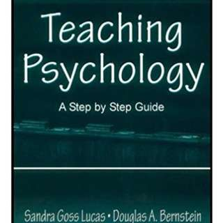 Teaching Psychology: A Step By Step Guide 1st Edition Ebooks