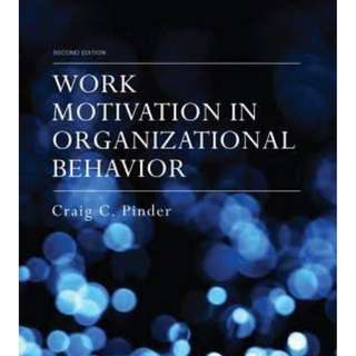 Work Motivation in Organizational Behavior, Second Edition 2nd Edition Ebooks