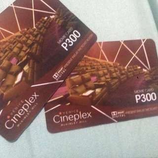 Venice Cineplex Movie Cards
