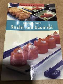 Quick & Easy Sushi & Sashimi Recipe Book