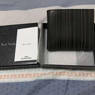 全新 Paul Smith 銀包 有盒