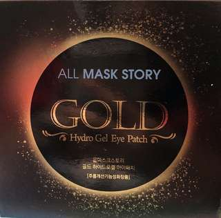 BN All Mask Story GOLD Hydro Gel Eye Patch