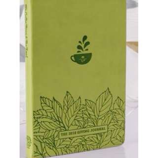 The Coffee Bean & Tea Leaf's Giving Journal 2018 (REPRICED)