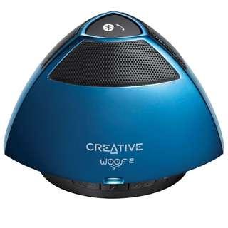3f42880ab5 BNIB CREATIVE Woof 2 Bluetooth Wireless Speaker