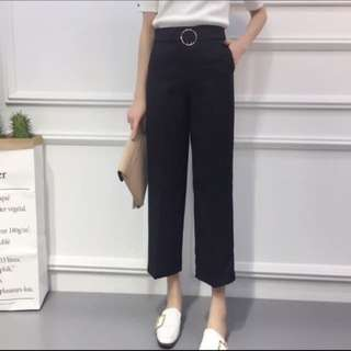 Formal straight cut pants