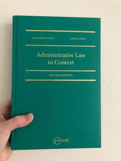Admin Law in context