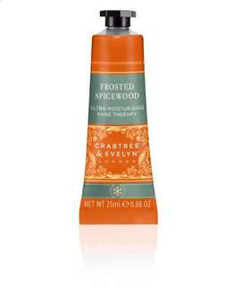 BN Crabtree & Evelyn Frosted Spicewood Ultra Moisturizing Hand Therapy 25ml