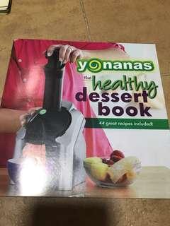 Yonanas Healthy Dessert Book
