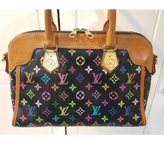 RARE Authentic LV Handbag Leather MADE IN FRANCE