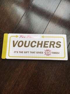 Vouchers for friends