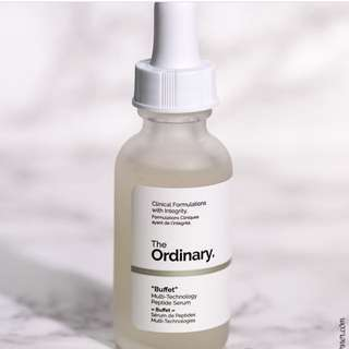 The Ordinary Buffet 多功能胜肽精華