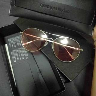 Gentle monster sunglasses ranny ring o2 pink