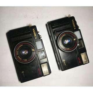 kamera analog yashica mf2 DISPLAY ONLY paketan