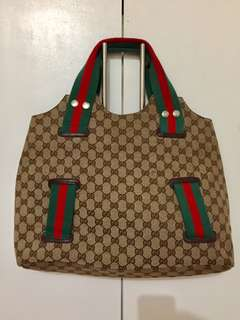 Pre-loved Utility gucci handbag