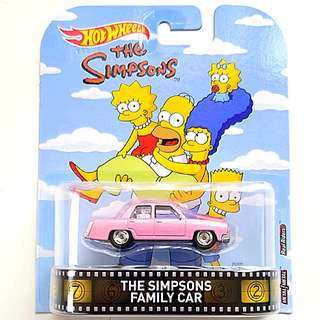 Hot Wheels The Simpson's Family Car