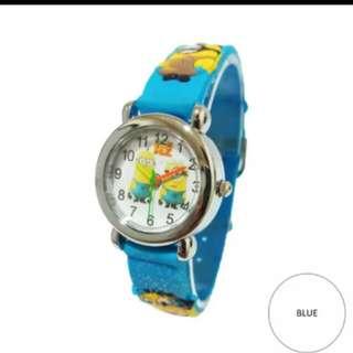 Jam tangan anak minions