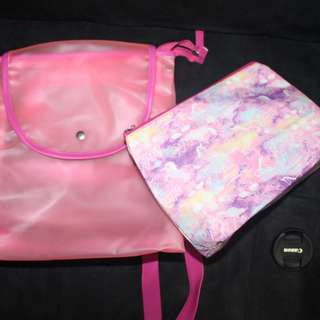 Lisa Multiway Backpack and Pouch Set