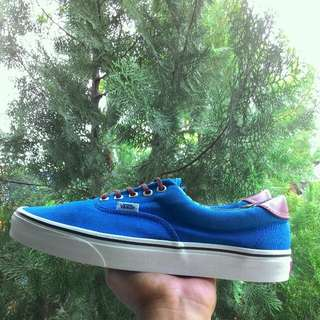 Bissmillah For Sale Vans Era 59 Blue & Aloha Print Canvas Skate Shoes