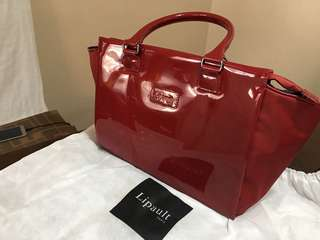 Lipault Paris satchel with strap