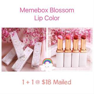 🛍1+1 Sales! Memebox x Pony Blossom Lip Color