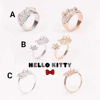 PO Hello Kitty Rings