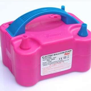 電動充氣泵/ 氣球電動充氣機 /打氣筒/ 電動吹氣球工具/ 氣球機/ 充氣打氣機/ 電泵
